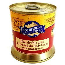 Bloc de Duck Foie Gras De Canard du Sud Ouest with small pieces 200gr - France