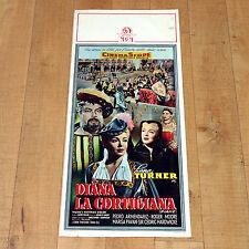 DIANA LA CORTIGIANA locandina poster Lana Turner Pedro Armendariz Francia E82