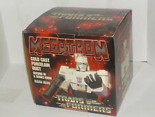Hard Hero Transformers Cold Cast Porcelain Megatron Bust Statue LE 3691/5000