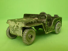 AMERICAN US ARMY JEEP WILLYS METAL BODY AND WHEELS RARE SELTEN IN GOOD CONDITION