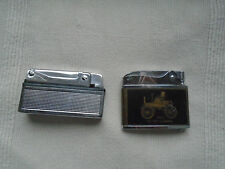 Vintage Mercedes Car Promo Gasoline Lighter Lot!