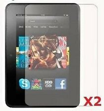 "2x Clear Screen Protector Guard for 7"" inch Amazon Kindle Fire HD 1st generation"