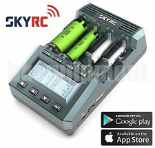 SKYRC MC3000 UNIVERSAL BATTERY CHARGER ANALYZER IPHONE / ANDROID APP US