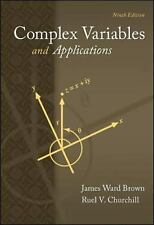 Complex Variables and Applications by Ruel V. Churchill and James Ward Brown...