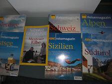 ADAC Reisemagazin Schweiz Sizilien Alpen Südtirol Nordsee Ostsee Abenteuer Elbe