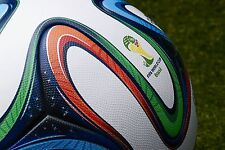 ADIDAS BRAZUCA SOCCER MATCH BALL FIFA WORLD CUP 2014 REPLICA SIZE 5