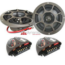 "Morel HYBRID INTEGRA 402 Car Audio 4"" Component Speakers 2-Way 250w Integra402"