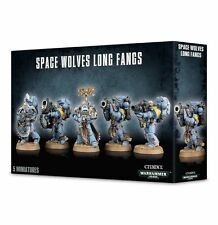 Warhammer 40k Space Marines Space Wolves Long Fangs NIB