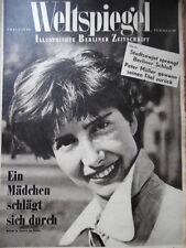 WELTSPIEGEL 38- 1950 Gauchos Sprengung Berliner Schloß Irland Berlinmode + Radio