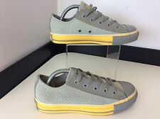Converse All Stars Grey & Yellow Sneakers Pumps Size 36.5  Uk 3.5 Baseball Shoes