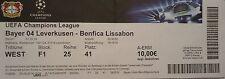 TICKET UEFA CL 2014/15 Bayer Leverkusen - Benfica Lissabon
