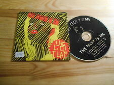 CD Pop Go! Team - The Power Is On (3 Song) Promo MEMPHIS INDUSTRIES cb