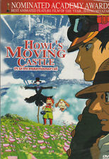Howl's Moving Castle Studio Ghibli Movie Sub Eng  Brand New DVD