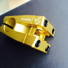 Stolen Clutch bmx stem front load Gold custom profile 1 1/8 S&M sunday