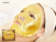 5X Premium Gold 24kCollagen Face Facial Mask Whitening Anti Aging Skin Care Lot