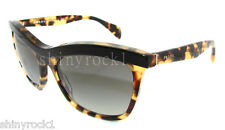 Authentic PRADA Spotted Cat Eye Sunglasses PR 19P 19PS - NAI3M1  *NEW*