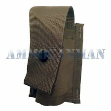 GENUINE USGI SINGLE 40MM GRENADE/EXPLOSIVE MOLLE POUCH COYOTE BROWN NEW