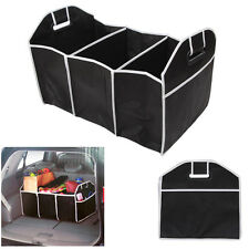 Car Trunk Storage Organizer Caddy Folding Cartons Bin Bag Tool Box Collapsible