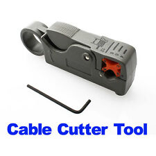 Rotary Coax Coaxial Cable Cutter Tool RG58 RG6 Stripper Coax Rotary Cutter