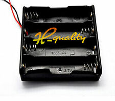 Battery Case Holder Storage Plastic Box 4*18650 Rechargeable Battery 3.7V