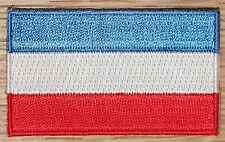 YUGOSLAVIA Country Flag Embroidered PATCH Badge
