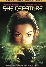 She Creature (DVD, 2002) VERY RARE GREAT MOVIE CARLA GUGINO DISC W / INSERT