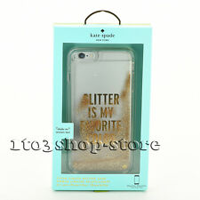 Kate Spade iPhone 6 Plus iPhone 6s Plus Case Glitter is My Favorite Color Gold
