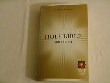 THE NEW LIVING TRANSLATION Bible Softcover YELLOW And WHITE