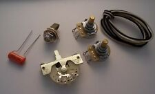 Fender Vintage Telecaster Wiring Kit CRL Switchcraft CTS ORANGE DROP Made in USA