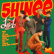 SHINEE [1 OF 1] 5th Album CD+72p Photo Book+24p Booklet+1p Card K-POP SEALED