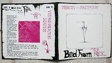 "VISION FACTORY - Bird From Fez  7"" Single   minimal synth  Private Pressing"