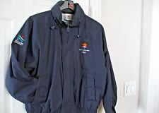 Ski Jacket Salt Lake 2002 Olympics Paralympics Hoodie Coat Mens L USA