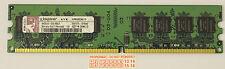 2 GB (2X1GB) DDR2 PC2-6400 6400U DDR2-800 MHZ MEMORY DIMM PC DESKTOP RAM 240 PIN