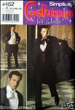 Simplicity Costume 4482 PHANTOM OF THE OPERA-OOP - Sewing Pattern*Mens Suit*Cape