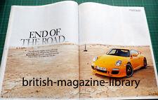 Evo Magazine 153 - Porsche 911 997 GTS