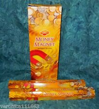 Money Magnet Incense 40 Stick New Sealed Happy Liberated Empowered SAC Brand