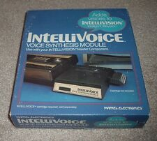 1981 INTELLIVOICE Voice Synthesis Module For Use w/Intellivision Mattel #3330