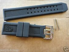 Luminox 7251|3050|3051|6402 Navy Seal 23mm Rubber.Silicon Band.Strap.bracelet