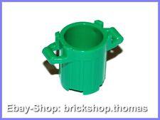 Lego Mülltonne Mülleimer Tonne grün - 92926 - Trash Can green - NEU / NEW
