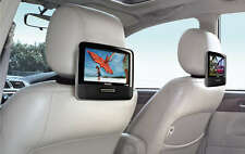 "PHILIPS PD9016 PORTABLE 9"" DUAL LCD WIDESCREEN DVD PLAYER TRAVEL CAR SPEAKERS"