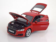 Minichamps 2014 Audi TT Coupe Red Color Dealer Edition 1/18 Scale New! In Stock!
