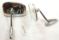 Chrom Spiegel Mercedes, MG, Porsche, Peugeot, Triumph, Chromed Rear View Mirror