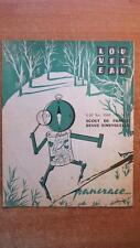 SCOUTISME / REVUE LOUVETEAU N° 16-17 NOVEMBRE 1960 - SCOUTS DE FRANCE