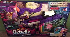 NERF Rebelle Charmed Fair Fortune Crossbow Blaster + 2 Charm Bracelets New