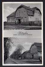 96963 AK Nitzahn Post Grosswusterwitz Gasthof zur Post Albrecht Stahl 1938
