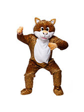 Adulto Excelente Tiger Fancy Dress Mascota Traje animal Zoo Wild Cat Unisex millones de EUR