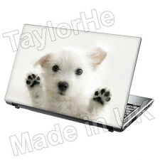 "15.6"" Laptop Skin Cover Sticker Decal cute puppy 115"