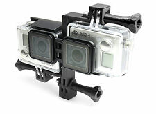 3d waterproof casing Connector + Tripod Mount para GoPro Hero 3+ Black accesorios