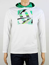 Animal boys long sleeve t shirt white hoodie 13 yrs 14 yrs adult small (B3000)