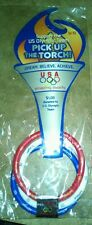 USA OLYMPIC TEAM BEIJING 2008 BRACELET - MINT IN PACKAGE. RED, WHITE, & BLUE